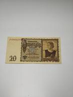 GERMANIA - P185 20M   16/6/1939 - - 20 Reichsmark