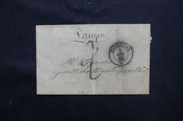 ITALIE - Lettre De Pallanza Pour La France En 1862 - L 75365 - Sonstige