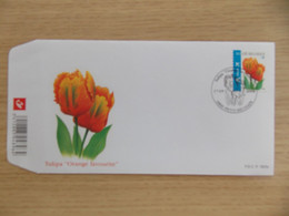 "First Day Cover 2008 België Tulipa "" Orange Favourite ""    FDC P 1623 Z - 2001-10"