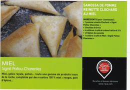SAMOSSA DE POMME REINETTE CLOCHARD AU MIEL    : Edit : IRQUA - Ricette Di Cucina
