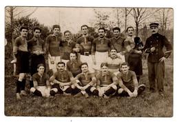 CPA Photo Nevers 58 Nièvre équipe 1 ère De Rugby Saison 1912-1913 PAG Peloton Avant Garde Actuelle USON - Nevers