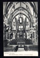 HENANBIHEN (22 Côtes D'Armor)  Intérieur De L'Eglise Décoré Pour Une Fête ( Edit. Guyot ) - Sonstige Gemeinden