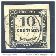D - [DEL-310-13]TB//-c:20e-Yv TX 2 Oblitéré TB Cote 20 Euros - 1859-1955 Gebraucht