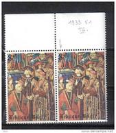 D - [TC026-06]TB//-BELGIQUE N° 1933-v1 Luppi @XX-MNH@ Pointille Sur Le Visage - Errors (Catalogue Luppi)
