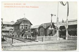 Esposizione Di MILANO, 1906 - Germania (Ferrovie Dello Stato Prussiano) - Milano