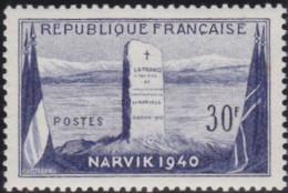 France   .   Y&T   .  922      .    **    .    Neuf Avec Gomme Et SANS Charniere   .   / .    MNH - Unused Stamps