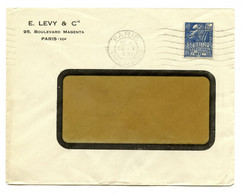 E. Levy & Cie, Paris Company Letter Cover Posted 1931 To Zagreb B201101 - Lettres & Documents