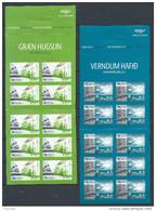 "Islande 2 Carnets C1422/1423 Neufs Complets Europa 2016 ""pensez Vert"" - Markenheftchen"