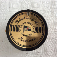 Boite Metal Black Gold Mixture Tabac Neuf - Unclassified
