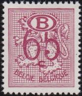 Belgie  .    OBP  .   Service  53       .   *    .    Ongebruikt  Met Gom .   /   .   Neuf Avec Gomme - Service