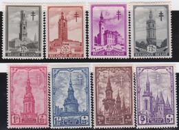 Belgie     .    OBP    .    519/526       .    *    .       Ongebruikt  Met Gom .   /   .   Neuf Avec Gomme - Unused Stamps