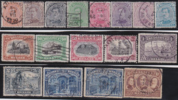 Belgie     .    OBP        .    135/149       .         O      .        Gebruikt  .   /   .   Oblitéré - 1915-1920 Albert I.