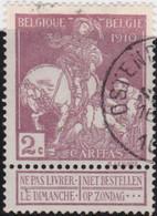 Belgie     .    OBP        .    89     .         O      .        Gebruikt  .   /   .   Oblitéré - 1910-1911 Caritas