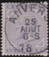 Belgie     .    OBP        .    41      .         O      .        Gebruikt  .   /   .   Oblitéré - 1883 Léopold II