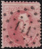 Belgie     .    OBP        .  16 A       .         O      .        Gebruikt  .   /   .   Oblitéré - 1863-1864 Médaillons (13/16)