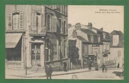 23 - Creuse - Gueret - Carte Peu Courante : Entrée De La Rue Des Chers - Guéret