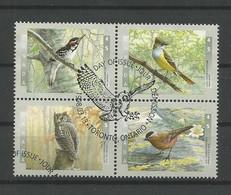 Canada 1998 Birds 4-block Y.T. 1556/1559 (0) - Gebraucht