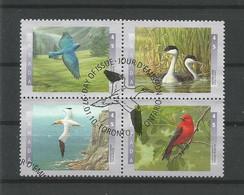 Canada 1997 Birds 4-block Y.T. 1501/1504 (0) - Gebraucht