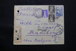 TURQUIE - Enveloppe De Ankara En 1942 Pour L 'Allemagne Avec Contrôle Postal, Affranchissement Recto / Verso - L 75411 - Briefe U. Dokumente