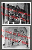 Bussy Saint Martin Détails Eglise ? Canton De Torcy Seine Et Marne / 2 Véritables Photos (No CP) - Torcy