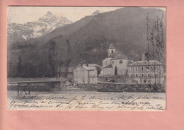 OUDE POSTKAART - ZWITSERLAND - SUISSE -  MASSONGEX  1904 - VS Valais