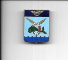 CK69 - INSIGNE AERONAVALE ESCADRILLE 20S - AGRAFAGE EPINGLE - Fuerzas Aéreas
