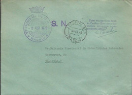 CARTA 1970 MADRID - Franquicia Postal