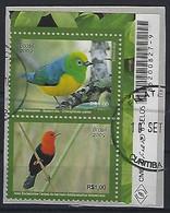 Brazil 2009  Birds (o) Mi.3704,3707 - Gebraucht