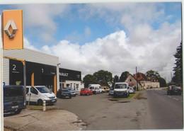 CPM 19 MASSERET ... Route De Limoges, Le Garage Renault (Livenais VE130620) Véhicules - Sonstige Gemeinden