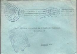 CARTA 1970 ALBACETE - Franquicia Postal