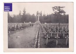 Cimetière Des Chasseurs Le Wettstein - 1947 - Photo Animée -9x6cm- Guerre 14-18 Nécropole Croix Monument Orbey A41-62 - Plaatsen