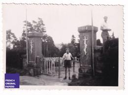Cimetière Des Chasseurs Le Wettstein - 1947 - Photo Animée -8,5x6cm- Guerre 14-18 Nécropole Croix Monument Orbey A41-62 - Plaatsen