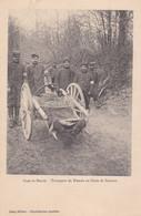 Dans La Meuse Transport Des Blessés Au Poste De Secours - Guerra 1914-18