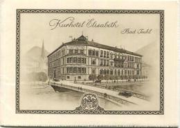 Österreich - Bad Ischl 20er Jahre - Kurhotel Elisabeth Vormals Hotel Kaiserin Elisabeth - 16 Seiten Mit 12 Abbildungen - - Toeristische Brochures