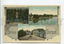 432473 ESTONIA TARTU DORPAT Multi-view Vintage Postcard - Estland