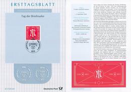 BRD - 2020 ETB 31/2020 - Mi 3564 - 80C     Tag Der Briefmarke 20 - FDC: Vellen