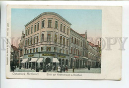 432740 GERMANY Osnabruck Nicolaiort Hotel Krahnstrasse Vintage Postcard - Non Classificati