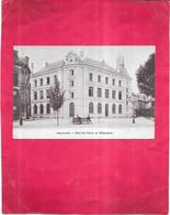ANGOULEME - 16 -  Hotel Des Postes Et Télégraphes  - 041120 - PUB Chicorée à La Bergère BONZEL Au Dos - - Angouleme