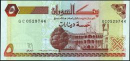♛ SUDAN - 5 Dinars 1993 UNC P.51 - Sudan