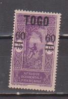 TOGO               N° YVERT  :   114  NEUF SANS GOMME        ( S G     2 / 12 ) - Nuevos