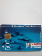 ALLEMAGNE GERMANY HAGEN BATTERIE DAUPHIN DOLFIN S 97 12DM UT - Dolphins