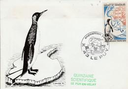 EXPOSITION POLAIRE à LE PUY EN VELAY HAUTE LOIRE 1984 - Commemorative Postmarks