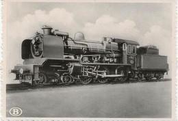 REF2225/ CP SNCB Locomotive Type 7 'Ten Wheel'  MINT - Trains