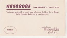 BON BUVARD  NASOBORE, Labo NOVALIS à OULLINS   - 021 - Unclassified