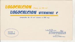 BON BUVARD  LUGOCALCION , Labo NOVALIS à OULLINS   - 022 - Unclassified
