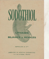 BON BUVARD  SODOTHIOL, LABO à BEAUVAIS   - 023 - Unclassified