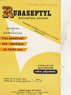 BON BUVARD  RUBASEPTYL  - 026 - Unclassified