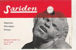 BON BUVARD  SARIDON  - 027 - Unclassified