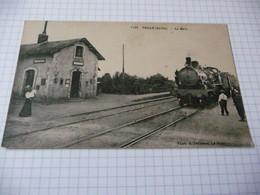 72 - Teille La Gare Avec Le Train - Otros Municipios