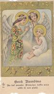 Santino Fustellato Gesu' Bambino - Devotion Images
